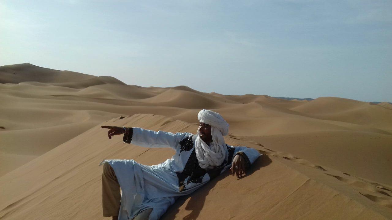 Voyage dans le désert Marocain, trek au cœur du Sahara