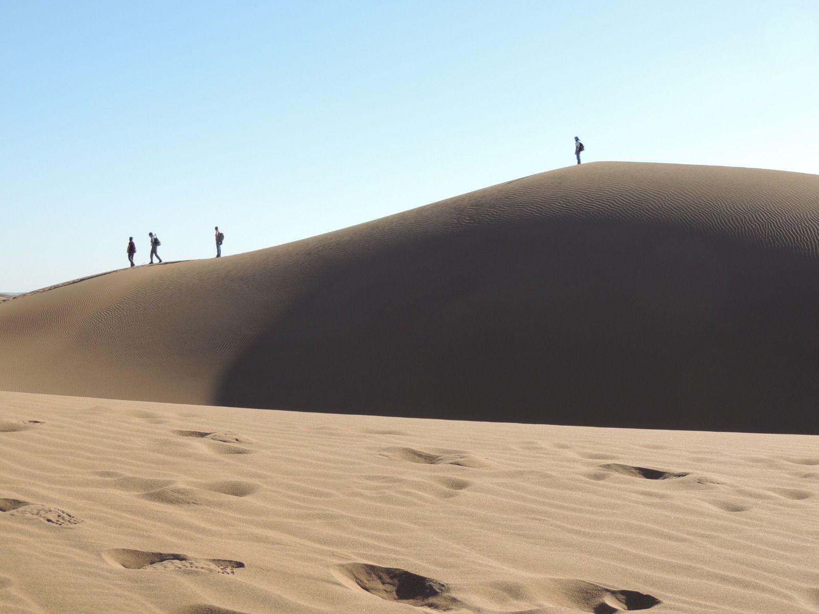 Trek dans le désert du Maroc